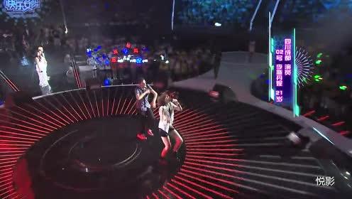 快女全国总决赛第二场11进10李斯丹妮演唱《Sober》
