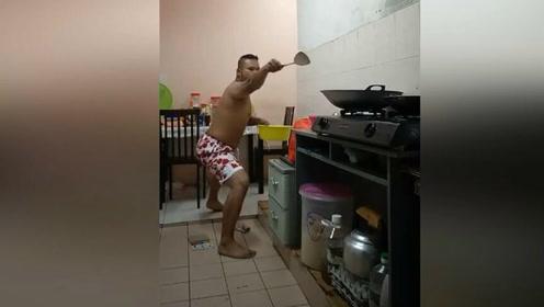 为什么男人不适合做饭,大概这就是最好的诠释吧