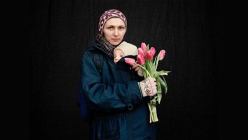 摄影家安娜塔西亚:战争背后是男人浴血奋战 女人为之哀悼