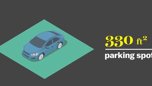 为什么美国有那么多停车位而中国却没有?