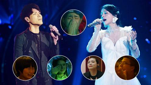 《歌手》最催泪瞬间:张韶涵《梦里花》居然才第五