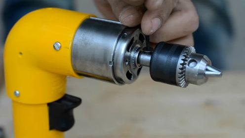 印度技术宅手工制作手钻,果然厉害!