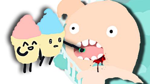 屌德斯解说 模拟冰淇淋 约会去动物园给巨型怪兽喂食!