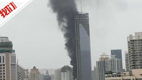 直播回看:兰州一在建楼突发火灾 现场浓烟滚滚