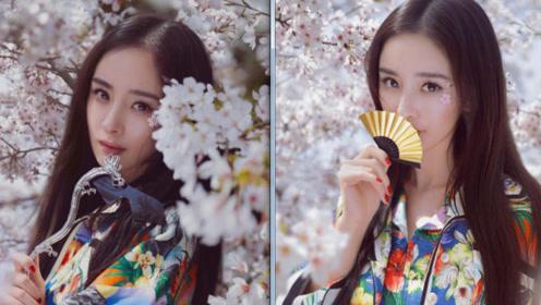 杨幂爸爸再晒女儿美照:喜欢女儿天天美美的