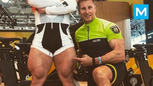 自行车职业选手的腿有多强壮?不看不知道