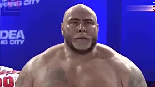刺激!最胖的维京人摧毁了美国的大型MMA!直接把对方打的昏倒!