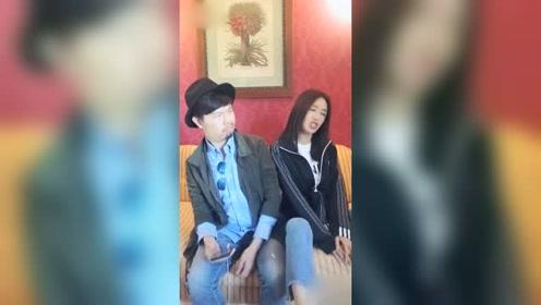 秦岚不顾女神形象 炫耀男友有钱超搞笑!