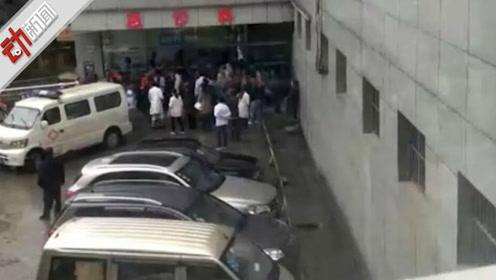 现场:云南昭通一载14人面包车翻下山坡 2死10伤