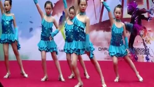 儿童拉丁舞视频《舞动青春》少儿拉丁舞才艺大赛