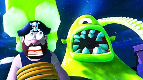 屌德斯解说 噩梦伙计01 全新版本!大战巨型章鱼海怪!