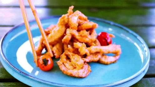 一方美食,四川小酥肉竟然这么香酥,这才叫外酥里嫩!