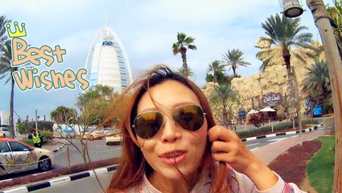 这才是迪拜让世界看到的面貌!游客到富人区,终于看到豪车了!