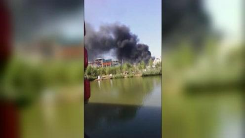 河北邯郸永年一架小型飞机坠落2人死亡
