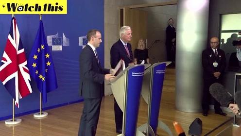 首次会见欧盟谈判代表 英国新任脱欧大臣:希望达成协议与欧盟合作