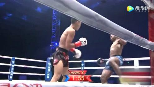 黑人选手在中国擂台赛无败绩,但这次碰上邓泽奇能否继续保持?难!