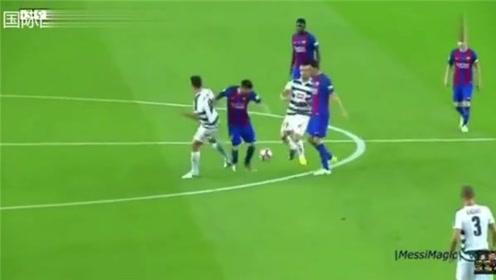 梅西2017年的足球魔术