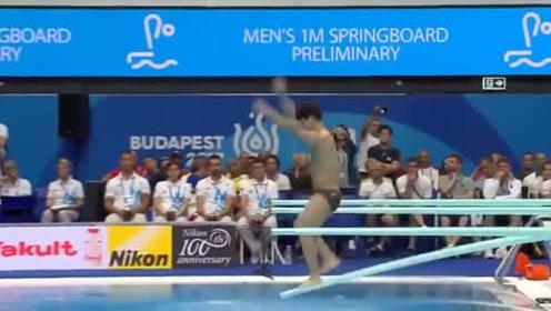 韩国选手这一跳有多高?解说员:亚洲人体型相对矮小,这下真有劲