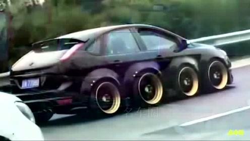 你绝对没见过 看看牛人自制的这些车