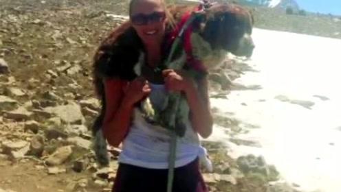 年轻妈妈勇扛50斤伤狗走20里下山 如得神助对生活重拾信心
