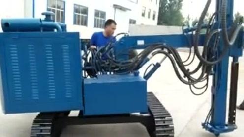 高手在民间,农民兄弟自制新型遥控锚杆钻机