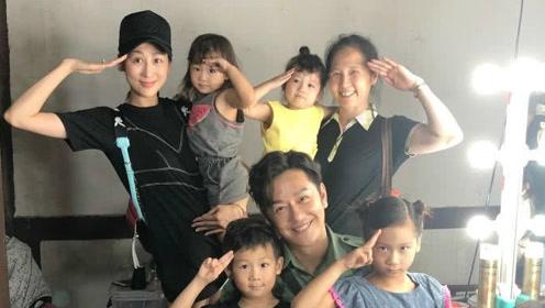 蒋丽莎被曝为防陈浩民拍戏出轨,带娃探班去贴身监控