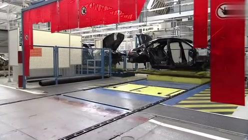 梅赛德斯-奔驰——自动化组装生产线全过程