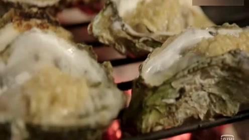 广东烧烤:湛江生蚝鲜美至极,大家吃烧烤从日暮吃到深夜