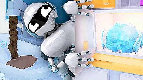 屌德斯解说 模拟家政机器人 不要让智能机器人单独在家!