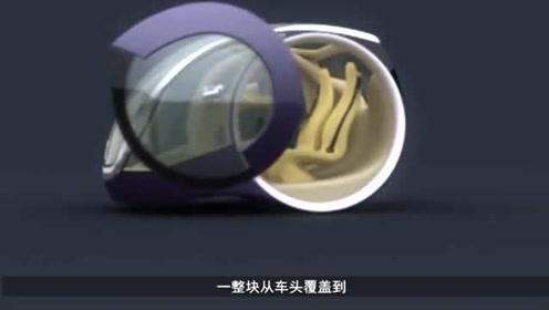 """获得设计金奖的""""玻璃车"""",它到底是奇葩,还是惊艳?"""
