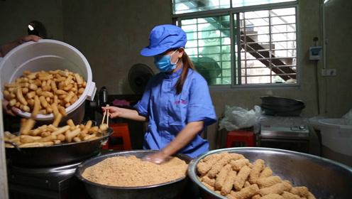 农村大姐做小吃40年,穷到被邻居耻笑,如今一天卖1000斤,真给力