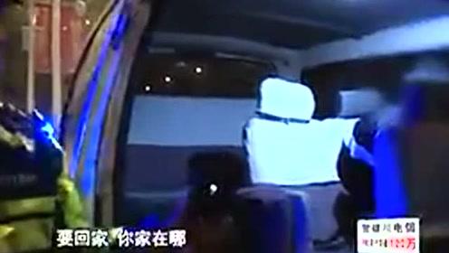 男子酒驾被查 晕头晃脑与交警聊美国法律
