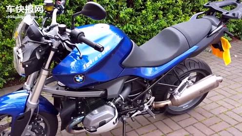 双缸宝马摩托车改装天蝎排气,车主爱不释手
