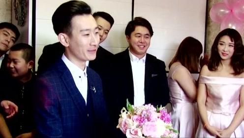 2019年最美婚礼,新郎婚礼现场的《往后余生》让新娘忍不住哭泣