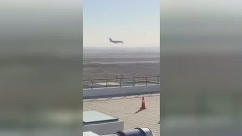 激动!北京大兴国际机场迎来首飞