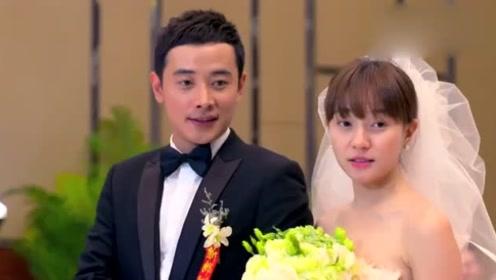 婚礼现场,新郎妈妈不同意,在台下跟着,吓得新郎直接摔在地上!