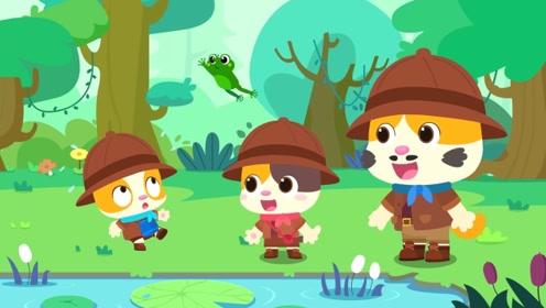 认知大全—探险森林动物,宝宝必备动物科普知识,轻松了解动物习性