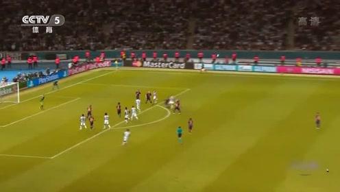 内马尔终于在比赛接近尾声时打入一球,为巴萨锁定胜局