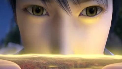 武动乾坤方言版:林动修炼成了一印符师,精神力观察爷爷