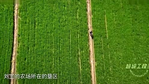 """超级工程:昔日约100万人北大荒开垦,如今早已是全国的""""粮仓"""""""
