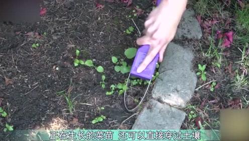 农村小伙发明锄地神器,一天锄5亩地!不用电也不用油!