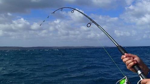 实拍印度人超长线钓鱼,轻松钓到一条大肥鱼!