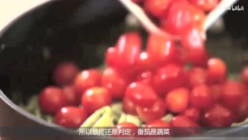将番茄压碎打浆包装后,就有与薯条绝配的番茄酱