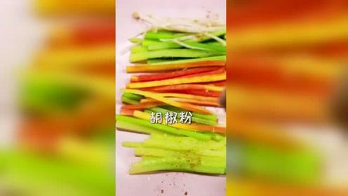 办公室小野:蔬菜沙拉不喜欢?小姐姐教你新吃法,青衣素心了解一下?