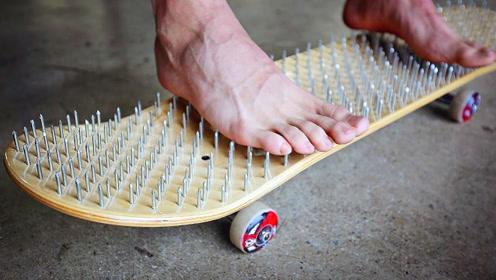 5个不可思议的滑板创意,第2个用冰块制作,第4个直接用上高科技