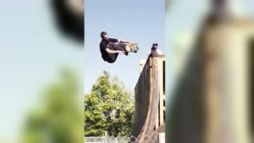 极限滑板运动,各种超酷的极限动作