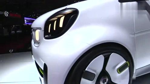 全新Smart敞篷版亮相 为什么这么小的车可以热卖 终于明白了