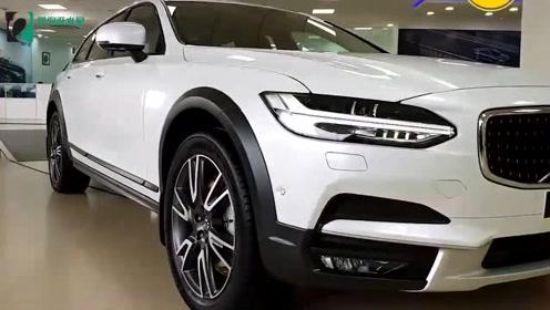 2019款沃尔沃V90到店,外观和内饰实拍,堪称最美旅行车!