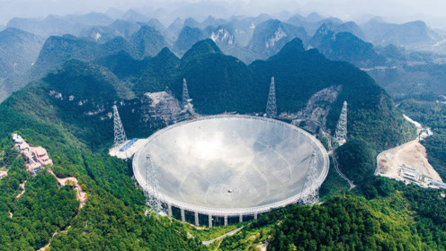 """央视记者带你走进""""FAST"""" 世界最大单口径球面射电望远镜"""