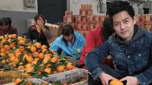 """农民因极其相似""""林志颖"""" 卖水果年入百万帅真的能当饭吃"""
